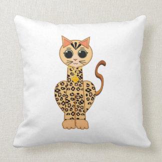 Cojín Decorativo Cute Bengal cat