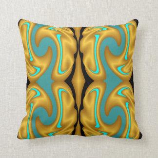 Cojín Decorativo Decoración-Oro moderno/negro/azul/aguamarina del