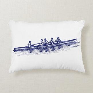 Cojín Decorativo Deportes acuáticos azules del equipo del equipo de
