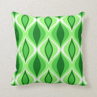 Cojín Decorativo Diamantes, esmeralda y verde lima modernos de los