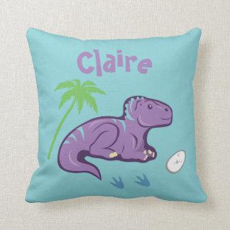 Cojín Decorativo Dinosaurio Iguanodon del bebé