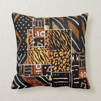 Cojín Decorativo Diseño africano tribal