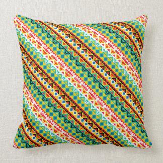 Cojín Decorativo Diseño azteca colorido lindo de los modelos