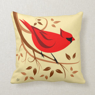 Cojín Decorativo Diseño cardinal masculino septentrional