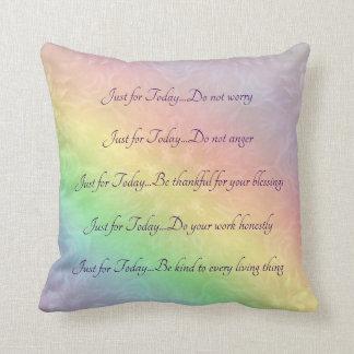 Cojín Decorativo Diseño de la mandala del arco iris de los