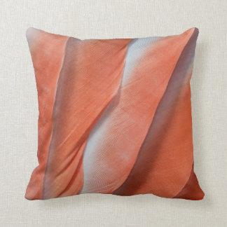 Cojín Decorativo Diseño de la pluma del Cockatoo rosado