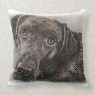 Cojín Decorativo Diseño del perro de Labrador de arte animal