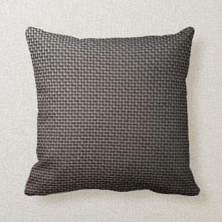 Cojín Decorativo Diseño gris de la malla metálica