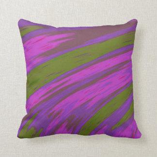 Cojín Decorativo Diseño moderno del extracto del color púrpura y