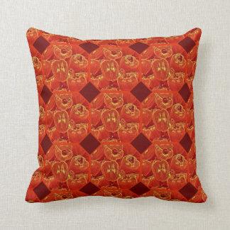 Cojín Decorativo Diversión intrépida de la pimienta roja