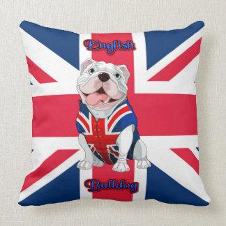 Cojín Decorativo Dogo del inglés de Union Jack