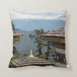 Cojín Decorativo Druk Wangyal Chortens