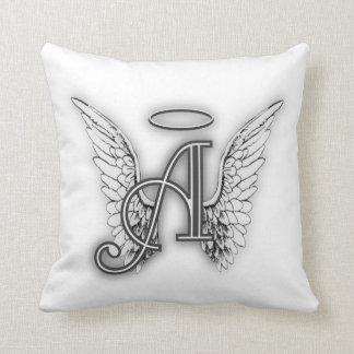 Cojín Decorativo El alfabeto del ángel este último inicial se va