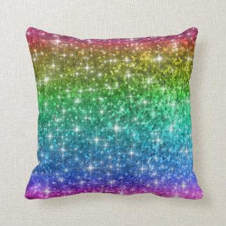 Cojín Decorativo El arco iris chispea amortiguador