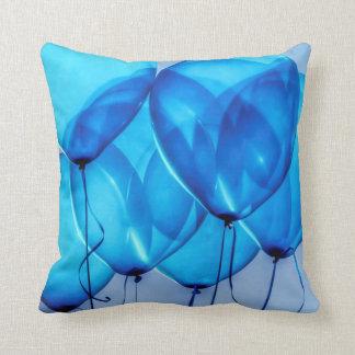 """Cojín Decorativo El """"azul cielo hincha """""""