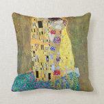 Cojín Decorativo El beso (Der original Kuss) por Gustavo Klimt