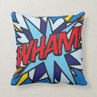 Cojín Decorativo ¡El cómic WHAM!