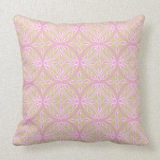 Cojín Decorativo El CTR de color caqui/rosado ligero Asia del