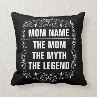 Cojín Decorativo El día de madre feliz de la mamá