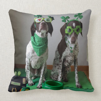 Cojín Decorativo El día de St Patrick persigue listo para ir de