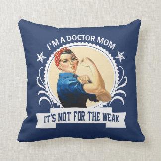 Cojín Decorativo El doctor Mom - no para el débil
