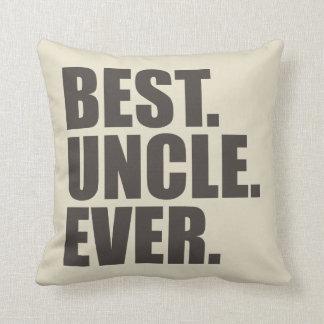 Cojín Decorativo El mejor. Tío. Nunca
