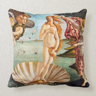 Cojín Decorativo El nacimiento de Botticelli de Venus restauró y