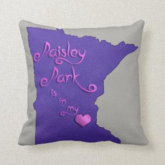 Cojín Decorativo El parque de Paisley está en mi corazón