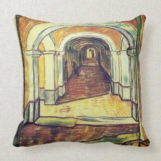 Cojín Decorativo El pasillo - Vincent van Gogh