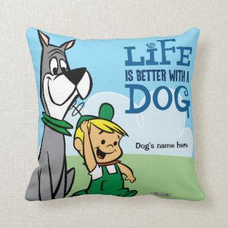Cojín Decorativo El perro y Elroy Jetsosn de Astro soportan para su