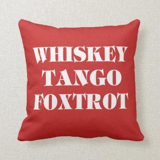 Cojín Decorativo El tango del whisky Foxtrot