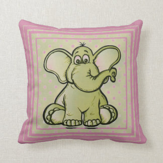 Cojín Decorativo Elefante del cuarto de niños