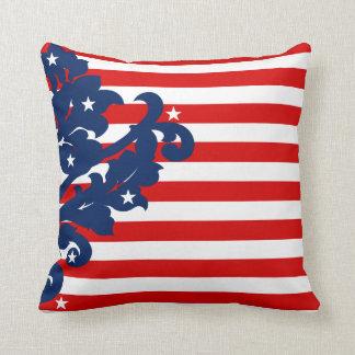 Cojín Decorativo Elegante el 4 de julio patriótico