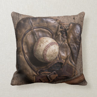 Cojín Decorativo Equipo de béisbol del vintage