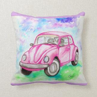 Cojín Decorativo Escarabajo rosado