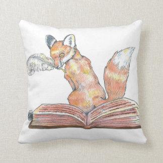 Cojín Decorativo Escribano del Fox