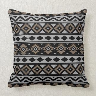 Cojín Decorativo Esencia azteca Ptn IIIb Brown gris negro