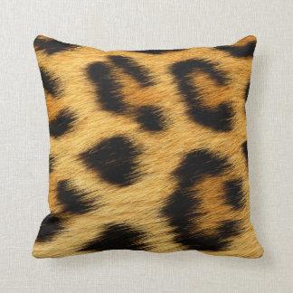 Cojín Decorativo Estampado de animales de la piel del leopardo