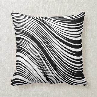 Cojín Decorativo Estampado de zebra blanco y negro inspirado