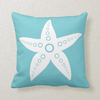 Cojín Decorativo Estrella de mar blanco