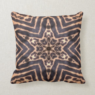 Cojín Decorativo Estrella del guepardo