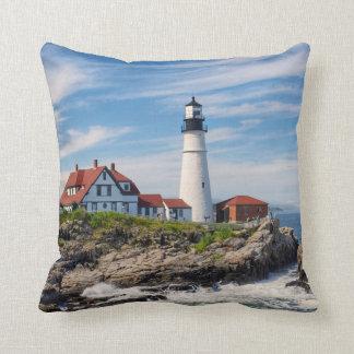 Cojín Decorativo Faro de Portland Maine