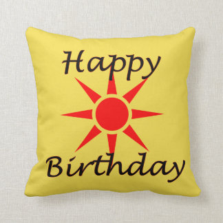 Cojín Decorativo Feliz cumpleaños
