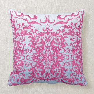 Cojín Decorativo Flor de lis compleja en rosa