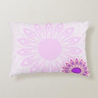 Cojín Decorativo flor rosada