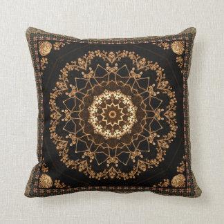 Cojín Decorativo Flor texturizada de la mandala
