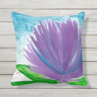 Cojín Decorativo Flores púrpuras
