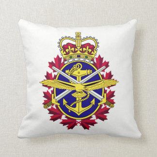 Cojín Decorativo Fuerzas armadas de arma del canadiense