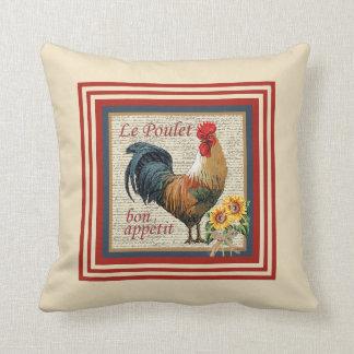 Cojín Decorativo Gallo francés del país
