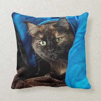 Cojín Decorativo Gato de la abrazo
